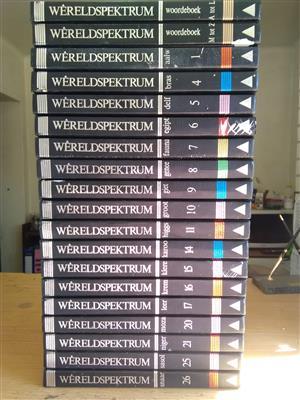 Wereld spektrum boeke