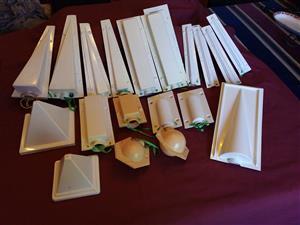 Candle moulds 19 piece