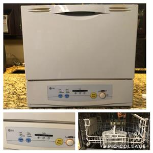 LG Dishwasher (6 Plate Counter Top)