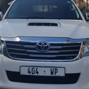 2012 Toyota Hilux 3.0D 4D double cab 4x4 Raider