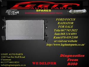 FORD FOCUS RADIATOR FOR SALE