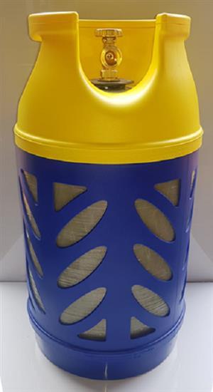 Composite 10kg gas bottle - NON EXPLOSIVE - Courier CT R70 Other provinces R150