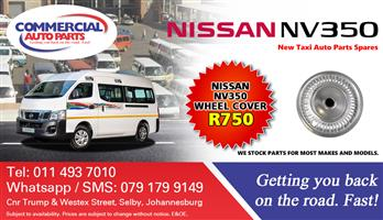 Wheel Cap For Nissan NV350 Impendulo For Sale.