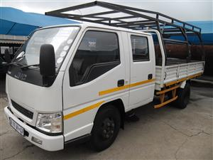 2015 JMC CARRYING 2.8TDi DOUBLE CAB, LUX EDITION, LWB.
