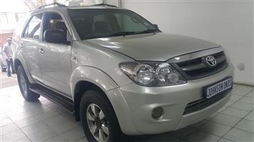 2008 Toyota Fortuner 3.0D 4D 4x4 auto