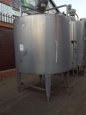 2000ltr Stainless Steel Tank