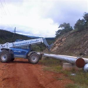 VerticalZA Telehandler Manitou MT1235 -, 3.5 ton 12m TELESCOPIC FORKLIFT
