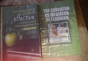 UNISA PGCE TEXTBOOKS for sale...