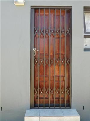 Big Special Prices on Trellis Doors and Burglar Bars. Free Quote, No Deposit required.Call us today