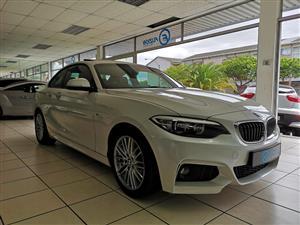 2014 BMW 2 Series 220d coupe M Sport auto