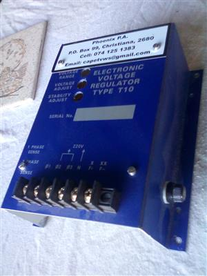 T10 generator regulator, new and un-used, 5 units available, shipping from R50.00