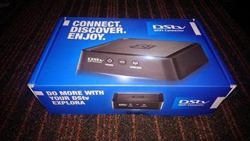 DSTV WIFI RANGE EXTENDER MET BOX EN DRADE
