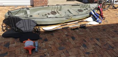 Legend Nessy Double Kayak with extras