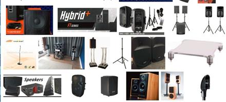 GAUTENG'S FINEST SOUND HIRE / PA SYSTEM HIRE - R799 with DOUBLE CORDLESS MICROPHONE