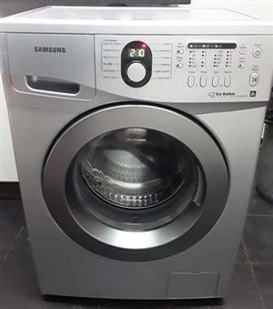 Samsung 7 kgs silver frontloader