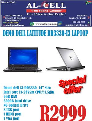 Demo Dell Latitude Laptop DD3330-I3 Laptop