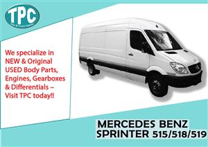 Mercedes Benz Sprinter 515/518/519.