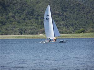 Sailboat Catamaran
