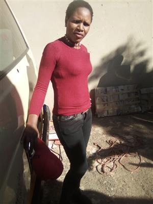 Caroline(31) From Vosloorus Experience Maid/Nanny with 3 years exp and Ref needs stay in/out
