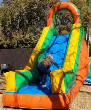 Jumping castle slide for sale