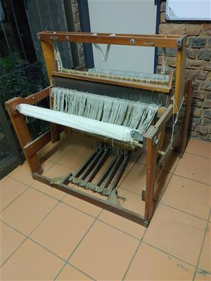 Weaving loom for sale.