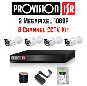 For sale PROVISION ISR CCTV camera system