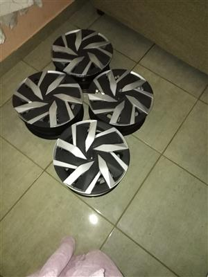 New Nissan Go 15 inch  standard Rims and Mags for R2000