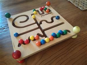 Wooden Pathfinder game