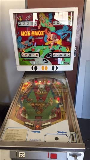 Pinball Machine Wanted for Cash