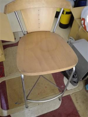 Wood Barstools For Sale – R1500