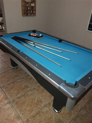Pool Table and Accessories price Neg. Very good condition.