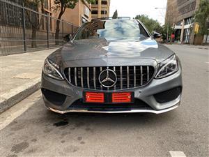 2018 Mercedes Benz C-Class sedan C200 AMG LINE A/T