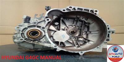 IMPORTED USED HYUNDAI G4GC MANUAL GEARBOX