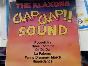 The Klaxons clap clap sound