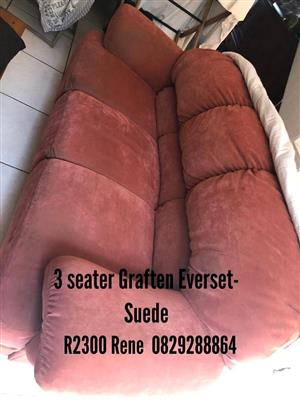 3 Seater grafton everest couch