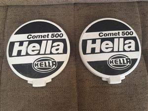 Hella Comet 500 Spotlight covers - 1 set/pair