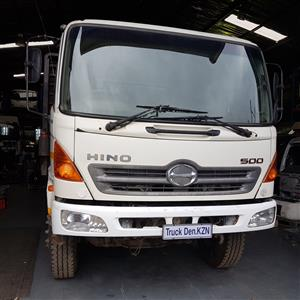 HINO 500 (16/26) FLAT DECK  TRUCK ,STAKE POCKETS (TIMBER CARRIER )
