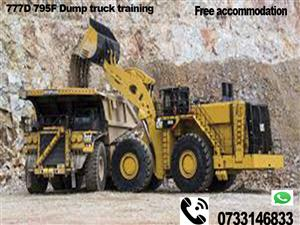 Workshop courses Trade test Mining short courses 777 dump truck RDO drill rig LHD welding plumbing soweto