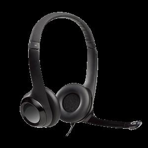 Logitech USB Headset H390 with rotating microphone
