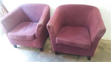 2 Tub Chairs