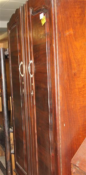 2 door antique wardrobe S030733C #Rosettenvillepawnshop
