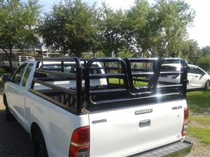 Hilux extended cab cattle rails