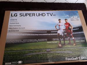 LG 65' super uhd smart tv