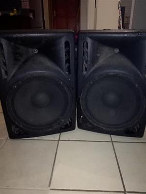 "15"" Dj speakers"