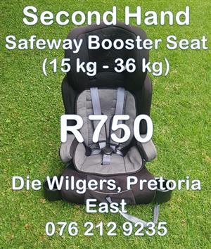Second Hand Safeway X5 Booster Seat (15 kg - 36 kg