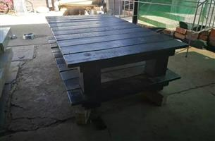 I am selling a wooden coffee table - black in colour.