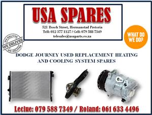 DODGE JOURNEY USED REPLACEMENT HEATING AND COOLING SYSTEM SPARES- USA SPARES CALL NOW