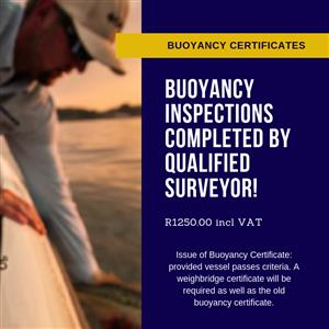 Buoyance Inspections & Certificates - Richards Bay