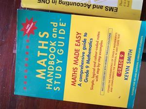 Maths handbook and study guide