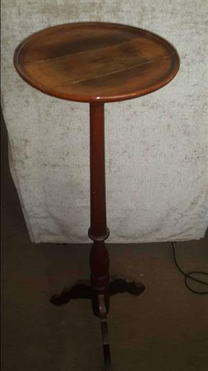 Hardwood plant stand table or similar